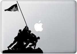 Marines Holding Flag Amazon Com Silhouette Cutout Of American Marines Raising The