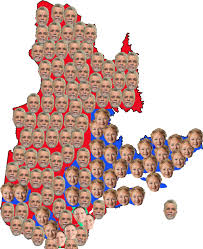 Election Maps Are Telling You Quebec Votes 2014 What Happened Last Night The True North Times