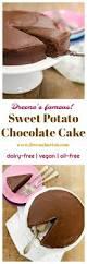 sweet potato chocolate cake healthy dessert recipes vegan