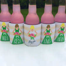 koozies for weddings haymarket designs personalized wedding party koozies