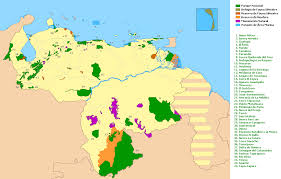 Venezuela Map Liste Der Nationalparks In Venezuela U2013 Wikipedia