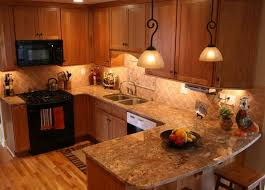Kitchen Color Ideas With Cherry Cabinets 37 Best Granite Countertops With Oak Cabinets Images On Pinterest