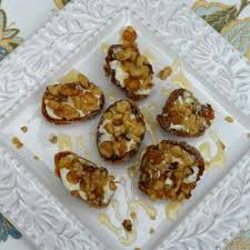 goats cheese canape recipes fig and goat cheese canapés recipe all recipes uk