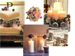 table decorations with pine cones pine cone centerpieces wedding table decoration ideas decorations