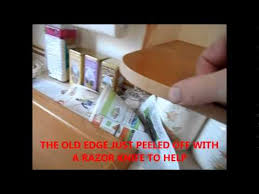 Kitchen Cabinet Restaining by Restaining Your Kitchen Cabinets Youtube
