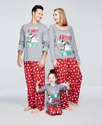 family pajamas snowflake meltdown pajama set big boys or big