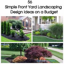 front yard landscaping ideas pictures 56 simple front yard landscaping design ideas on a budget homedecort