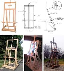 14 000 Woodworking Plans Projects Pdf by Build Your Own Easel Plans From Ben Grosser Art Pinterest