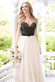 black and white wedding dress black and white wedding dresses wedding ideas by colour chwv