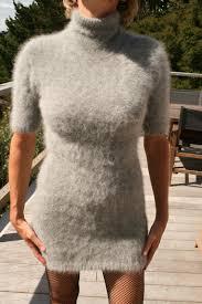 stunning 100 angora sweater dress extraordinary soft fuzzy