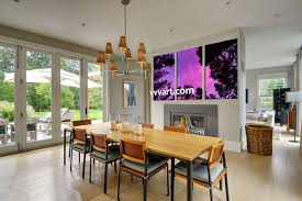triptych scenery purple sky large pictures dining room group canvas 3 piece wall art scenery multi panel art night