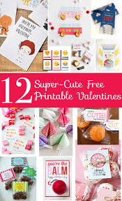 12 super cute free printable valentines less than perfect life