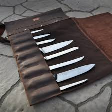 awesome kitchen knives kitchen kitchen knife storage fresh leather knife roll