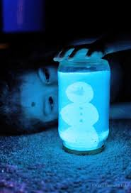 diy glowing snow globe quick winter craft globe snow and lights