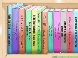 Paperback Bookshelves How To Arrange Bookshelves 11 Steps With Pictures Wikihow