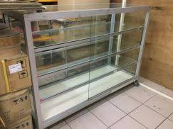 Glass Display Cabinet Johor Display Showcase Professional Business Equipment For Sale In