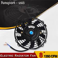 electric radiator fans 8inch push pull electric radiator fans universal engine bay slim
