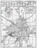 map of allen allen county 1946 ohio historical atlas