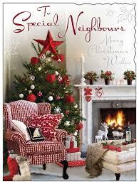 jonny javelin neighbours christmas card u2013 fireplace with glitter