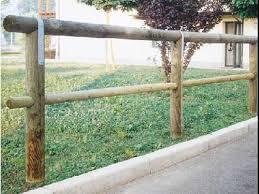 corrimano per esterno recinzione corrimano a 1 traversa in legno di pino svedese