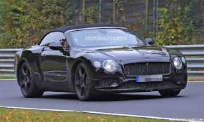 bentley coupe blue 2018 bentley continental gt convertible spy shots