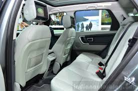 land rover defender interior back seat land rover discovery sport spied in india for the first time