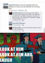 Okay Meme Facebook - funny facebook post 11 maybe he wanted some candy crush gift by