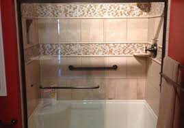 shower modern bathroom design with acrylic shower stall