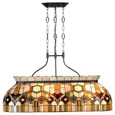 tiffany pool table light chicago fancy pool table light by tiffany lighting direct