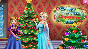 disney frozen perfect christmas tree game free disney princess