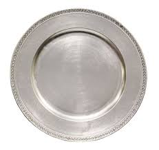silver wedding plates 49 best k r chargers images on wedding keepsakes