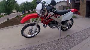 road legal motocross bikes 1999 honda cr125r dual sport street legal enduro dirt bike walk