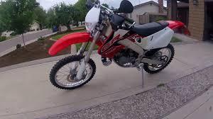 road legal motocross bike 1999 honda cr125r dual sport street legal enduro dirt bike walk
