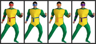 Teenage Mutant Ninja Turtles Halloween Costume Men U0027s Group Costumes Ideas 2012 Halloween Costumes Blog