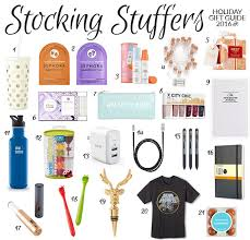 Good Stocking Stuffers Holiday Gift Guide 2016 Stocking Stuffers Pretty Neat Living