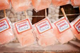 personalized cotton candy bags cotton candy party favors with custom label
