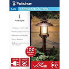 Westinghouse Low Voltage Led Landscape Lighting Westinghouse Low Voltage Heritage Brz Cw3001 78w Walmart