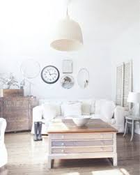 Nautical Sofa Fabulous Shabby Chicstyle Livingroom White Sofa Features Mirror