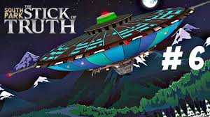 let u0027s play south park stick of truth part 6 alien space ship