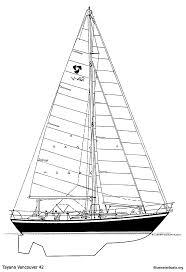 the tayana vancouver 42 sailboat bluewaterboats org