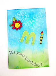 handmade greeting card for kid happy birthday omi youtube