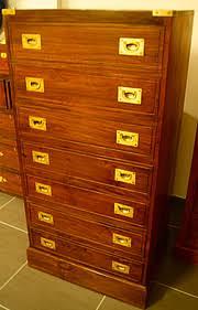 bureau marine ancien semainier de marine en teck commode la timonerie antiquités de