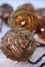 grapevine balls twig balls grapevine balls lights metallic angel vine