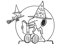 peanuts halloween coloring pages az coloring pages stitchery