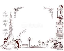 romantic eiffel tower decorates musical stave wall sticker wall romantic eiffel tower decorates musical stave wall sticker