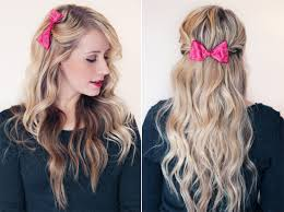 bow hair 8 ways to style a bow twist me pretty