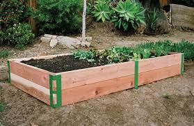 attractive raised bed planter box building raised vegetable garden