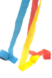 paper crepe streamers free image of colorful crepe paper streamers unrolling