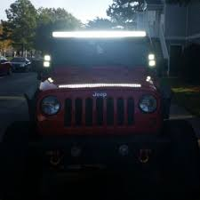 led light bar jeep wrangler best 25 jeep wrangler light bar ideas on jeep