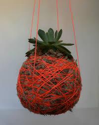 diy hanging moss ball planter l hanging string plant diy hanging